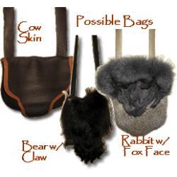 Hand Crafted Fur Possible Bags