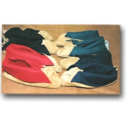 Woodland Indian Center Seam Moccasins