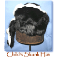Skunk Hat - Childs